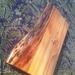Rustic live edge breadboard