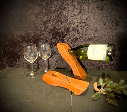 Recycled Rimu Wine Balance