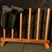 Gumboot rack   3 pair