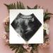 Bandana Baby Bib (100% Cotton) - Inky Dream - Made in New Zealand