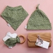 Baby Gift Set - Green Dot - Made in New Zealand