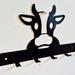 Cow Key/Coat Hanger 6 Hooks NZ Made