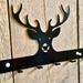 Stag Key/Coat Hanger 6 Hooks NZ Made
