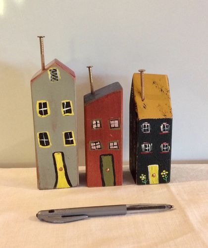Collectable painted houses