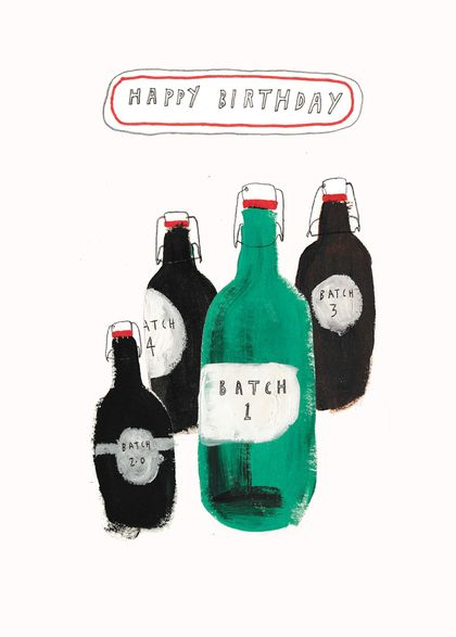 Birthday Beers Card