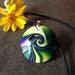 Swirl Bead Pendant