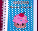 Grumpy Cupcake notebook!
