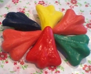 Jet Plane Brooch in Polymer Clay - Choose Your Colour!