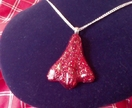 Special Edition Red Glitter Jet Plane Pendant!