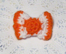 Orange Sherbet Sweet Mini Candy Brooch