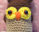 Hootie Cuties! Little Brown Amigurumi Owl