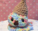 Sad Food! Oopsy Daisy Ice Cream Amigurumi!