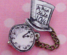 Time for Tea! Alice Brooch
