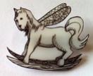 Rockinghorse-fly Brooch - A Squibble Original design!