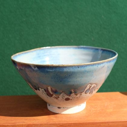 Blue dipped Bowl