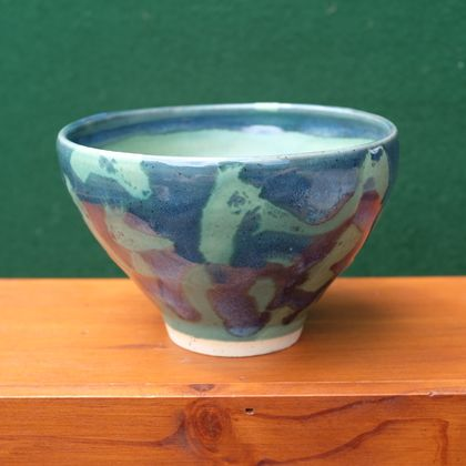 Tide Pool Bowl in Green