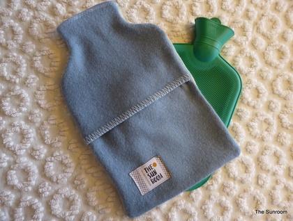 Vintage blanket tiki hottie cover