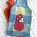 Purple/white/rose pink vintage blanket tiki hottie cover