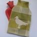 Vintage blanket seagull hottie cover