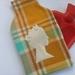 Vintage blanket Queenie hottie cover