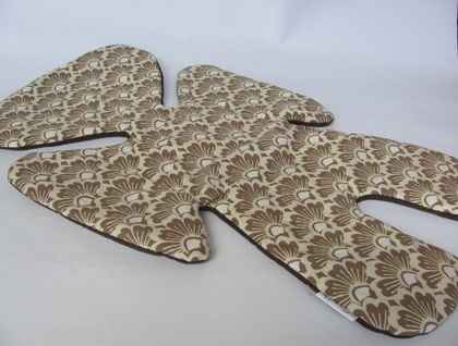 All size pram liner (Eastern Sunshine in Coffee and Chocolate)