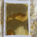 Naturally Dyed Silk Textile on Card - High Country