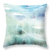 Beach theme art cushion - Mangawhai Heads