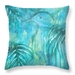 Kereru wood pigeon pillow with painted NZ foliage - ready to ship!