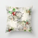Christmas bells overlay pillow