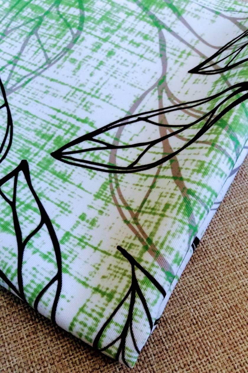 Titoki leaf pillow New Zealand native foliage Ready to Ship!