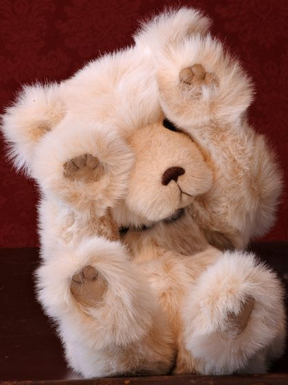 'Ollie' - a heirloom Teddy Bear for life!
