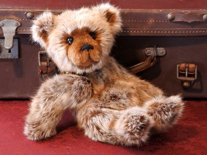 'George' - a heirloom Teddy Bear for life!