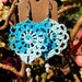 Crochet Earrings - 100% Cotton