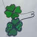 Stained-Glass Shamrock