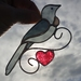 Little Tui with Red Heart