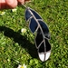 Stained Glass Huia Feather
