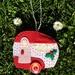 Retro Christmas Caravan