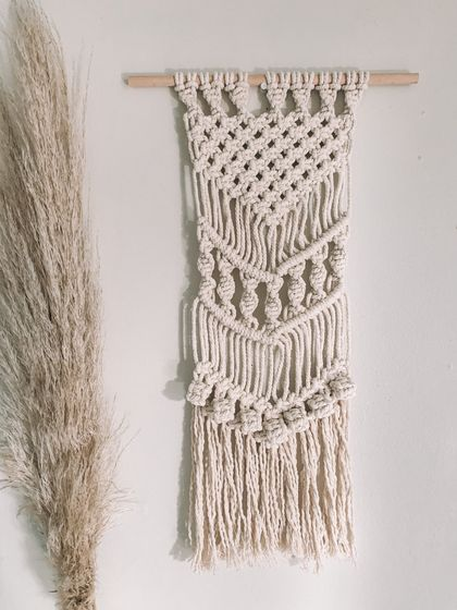 MYA - Natural macrame wall hanging