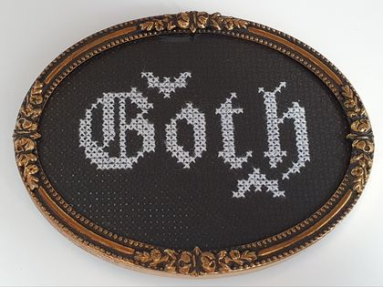Goth Cross Stitch