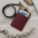 Personalized Leather ID Holder