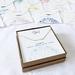 April Birthstone Necklace - Quartz, 18K Gold Plated Chain