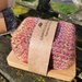 Olive oil soap in sleeping bag with Bamboo dish