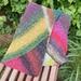 Prisim scarf in Noro cotton/silk/wool blend