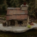 Miniature Model Stone Miners Cottage