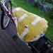 Dachshund Mustard Bicycle Seat Cover