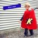 Blue Custom-made Superhero Cape