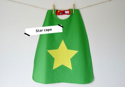 Star Superhero Cape