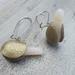 Geoduck clay earrings