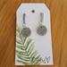 Simple Marble earrings