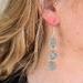 Clay marble earrings